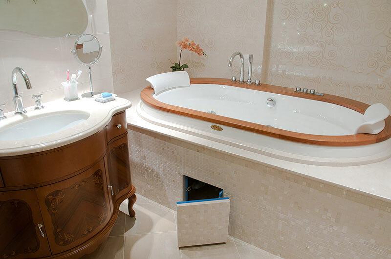 Люки под плитку в ванную комнату